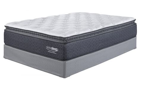 King Mattress by Limited Edition Pillowtop White King Mattress M79941