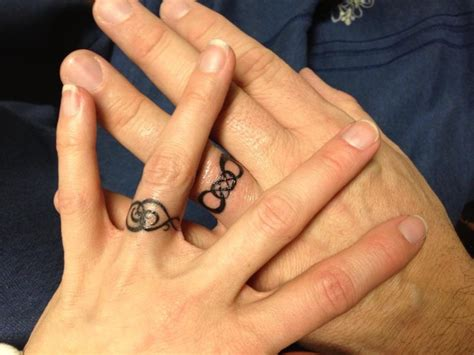 band tattoos symbols as wedding band tattoos unique wedding ideas