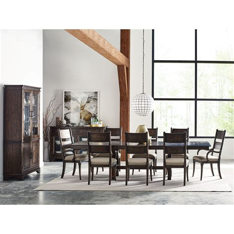 kincaid dining room kincaid furniture wildfire eleven piece formal dining room