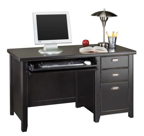 pedestal office desk tribeca loft black office furniture pedestal
