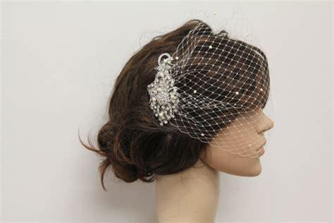 Wedding Hair Accessories Birdcage by Wedding Hair Accessories Bridal Birdcage Veil Wedding