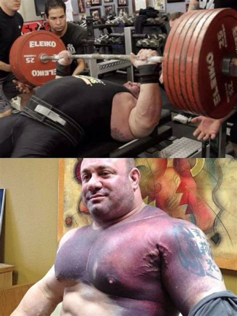 bill kazmaier bench press scott mendelson after he tore his pec trying for the world
