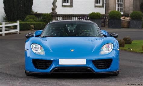 blue porsche spyder arrow blue porsche 918 spyder 8