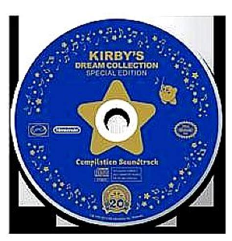 Cd Original You Special Collection For Collector kirby s collection special edition compilation soundtrack soundtrack from kirby s