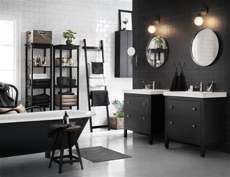 black and white home design inspiration inredningshj 228 lpen 187 badrumsinspiration fr 229 n ikea