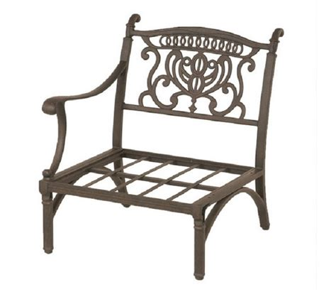 Grand Tuscany Patio Furniture Grand Tuscany By Hanamint Luxury Cast Aluminum Patio Furniture Right Club Chair