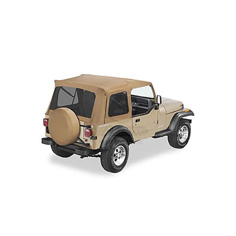 95 Jeep Parts Supertop With Tint 76 95 Cj Yj Wrangler Spice Jeep Parts