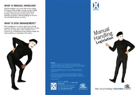 manual handling act 1992 cadillac