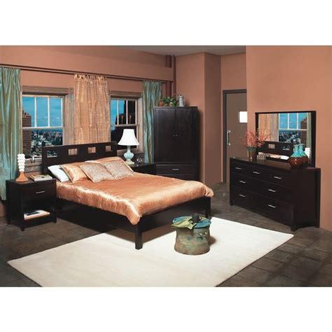 Low Bed Sets Modus Furniture Nevis Riva Modern 3 Low Profile Platform Bedroom Set In Espresso Rvp23