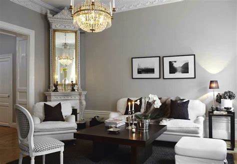 Living Rooms With Gray Walls by Swedish Living Room Living Room Skonahem