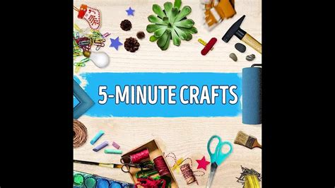 5 minute crafts for 5 minute craft bright side