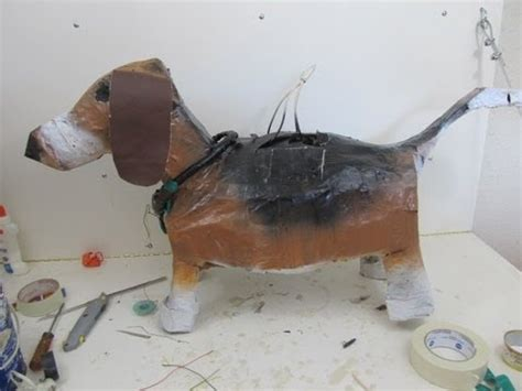 How To Make A Paper Mache Animal - how to make an animal pinata out of paper mache