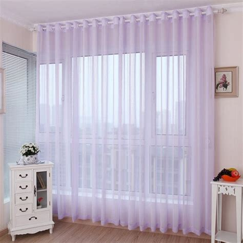 lavender bedroom curtains romantic light purple lavender sheer curtains for girls