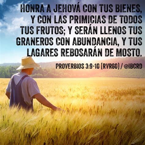 predicas cristianas escritas dios y las primicias proverbios 3 9 10 rvr60 ibcrd el vers 237 culo del d 237 a