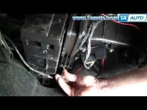 2011 Tahoe Cabin Air Filter by How To Install Replace Cabin Air Filter Chevy Silverado