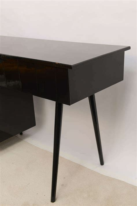 mccobb style black vanity desk at 1stdibs
