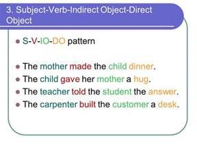 6 basic sentence patterns ppt