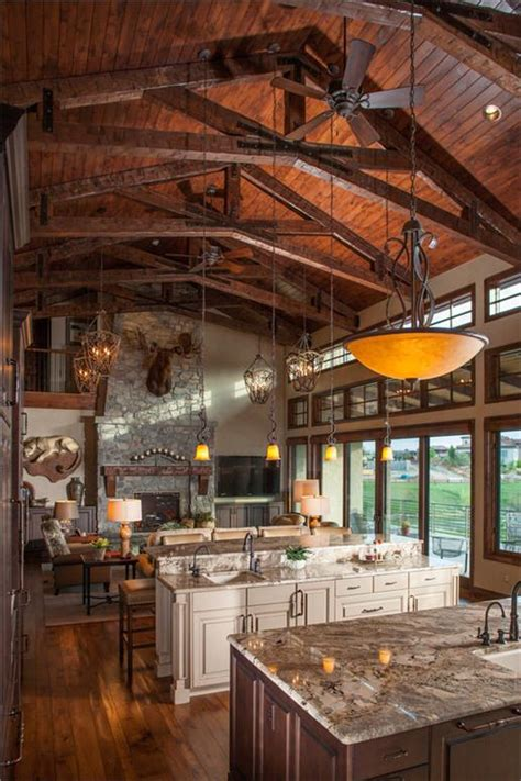 Eat On Kitchen Island by Southwest Style Home Traces Of Spanish Colonial Amp Native