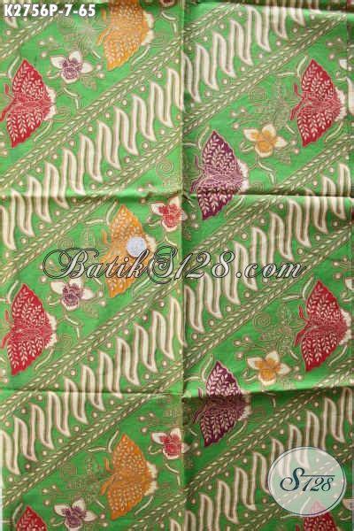 Kain Batik Kombinasi Motif Parang Bunga kain batik motif parang bunga kupu batik printing istimewa dari untuk baju kerja dan jalan