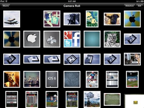 ipad wallpaper camera roll the fastest way to remove all the photos from the ipad