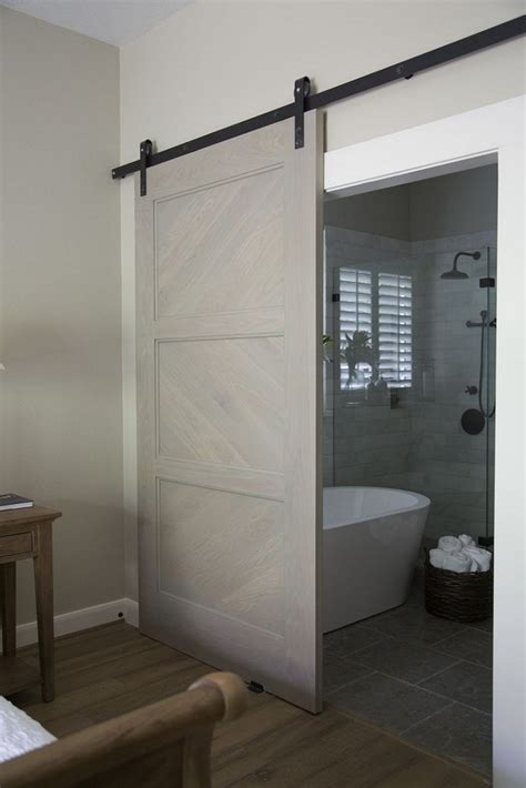 diy sliding bathroom door the diy sliding barn door ideas for you to use