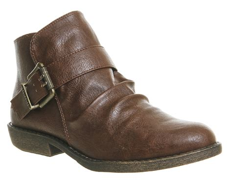 womens blowfish aeon ankle boots choc ranger boots ebay