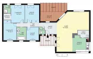 plan 4 chambres plain pied gratuit plan de