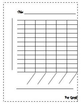blank bar graph template pinteres