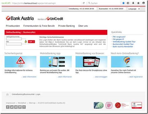 bank austria login probleme betr 252 ger geben sich als bank austria aus mimikama