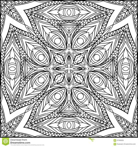 egyptian pattern black and white abstract egyptian cross zentangle style black and white