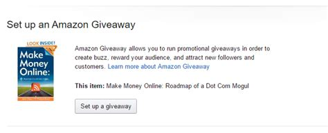 How To Find Amazon Giveaways - how to run an amazon giveaway