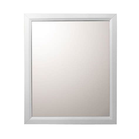 bellaterra home 7610 m sw wood framed mirror atg stores bellaterra home huron 30 in w x 1 in d x 36 in h single