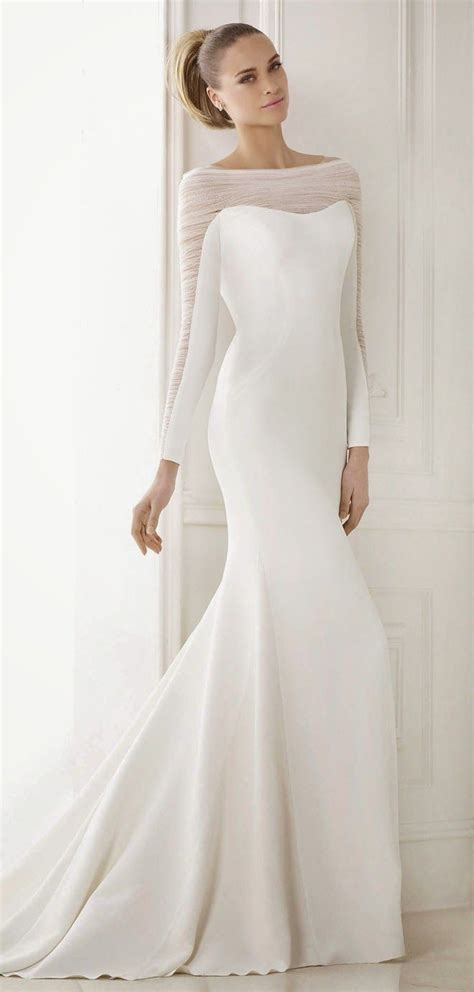 elegante brautkleider 20 simple wedding dresses