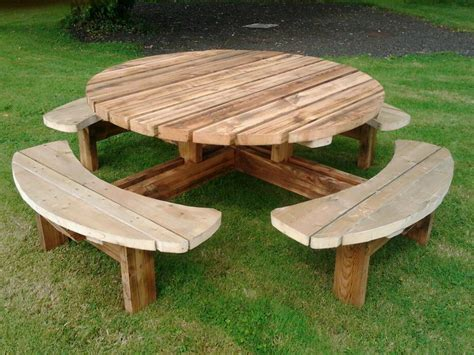 pub picnic benches round picnic tables wooden bench pub benches patio