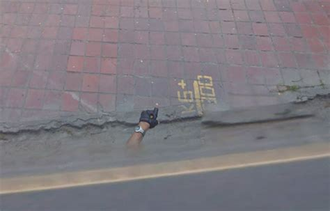 dead bodies on google street view google maps street view shows mystery floating hand