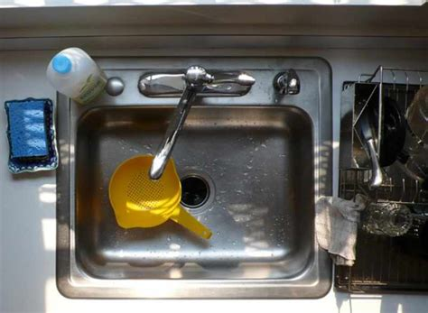 Bad Smell Coming From Kitchen Sink Drain by Get Rid Of Stinky Kitchen Sink Smells Kitchn