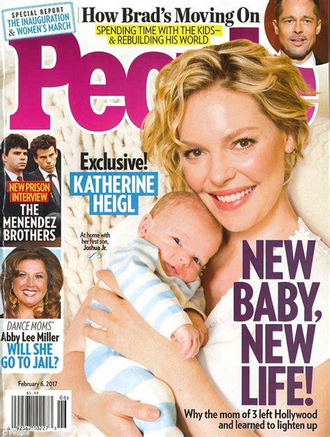 Magazine Gain Weight by Katherine Heigl Reveals Weight Gain During Pregnancy
