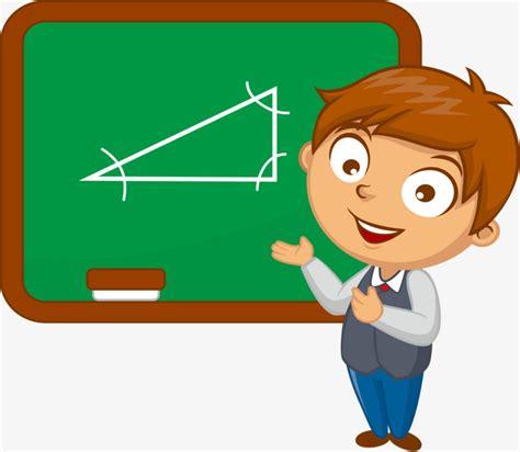 clipart matematica vector ense 241 ar matem 225 ticas chico vector pizarra