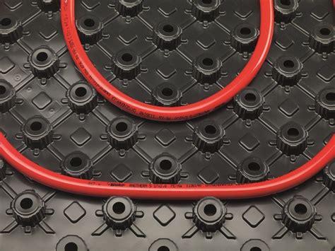 rehau riscaldamento a pavimento pannello radiante sistema radiante rehau
