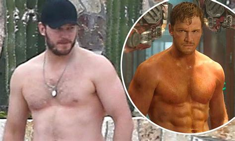 chris pratt drives fans wild   relaxed shirtless