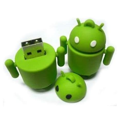 android usb gift android usb flash drive ruber robot usb pvc usb flash disk
