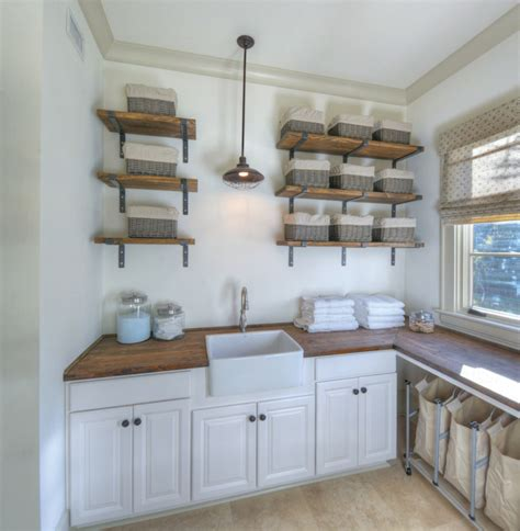 small farmhouse sink for laundry room rustic laundry rooms design ideas