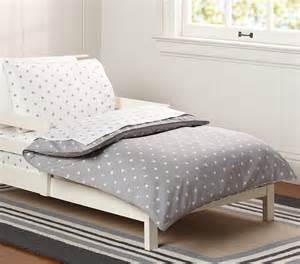 Grey Star Duvet Cover Star Toddler Duvet Cover Gray Pottery Barn Kids