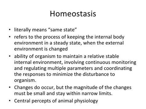 homeostasis exles google search bio chem physio