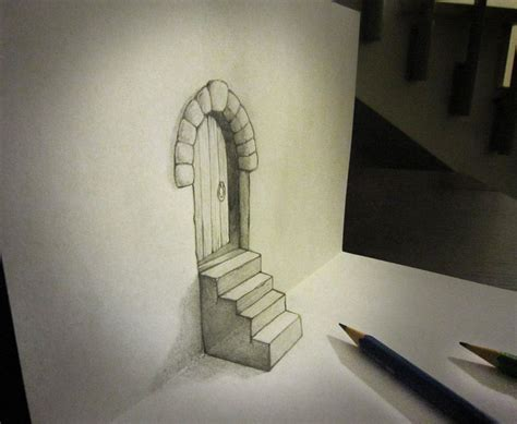 Drawing 3d Objects by Ingenious Like 3d Objects Seem To Escape The Drawing