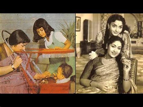 mahanati savitri rare unseen   family