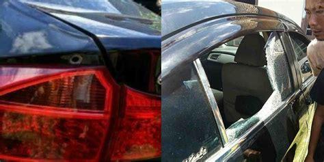 Lu Honda City honda city ditembaki polisi di lubuklinggau satu korban