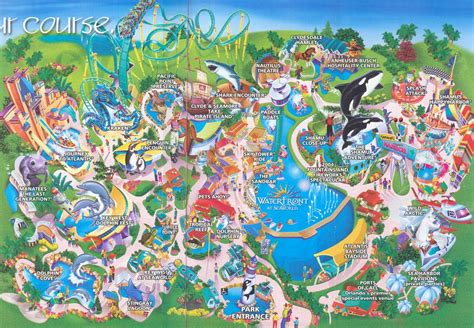 seaworld texas map image gallery seaworld map