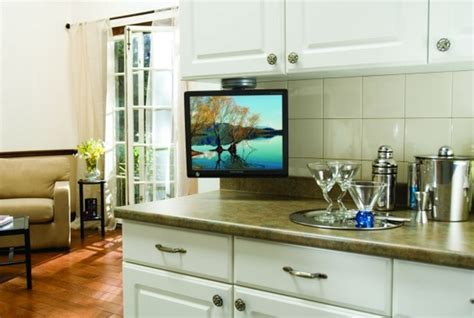kitchen tv ideas cabinet cool under cabinet tv for home under cabinet