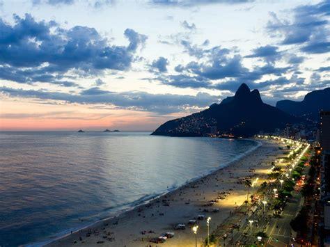 ipanema beach  brazil map facts location  time